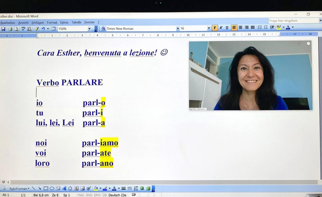 online Sprachkurs italienisch
